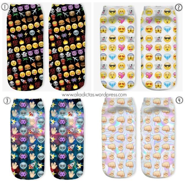 emoji calcetines